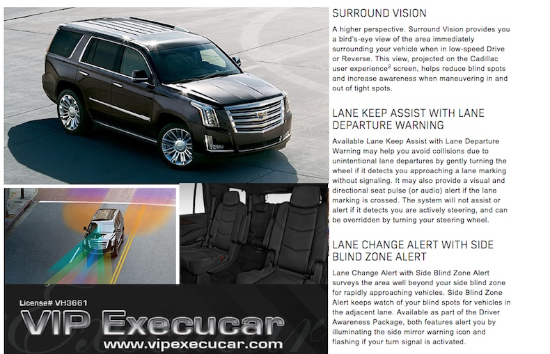New 2015 Cadillac Escalade SUV Stretch Limo