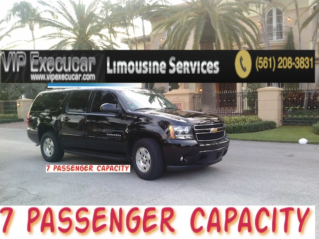West Palm Beach wedding limo
