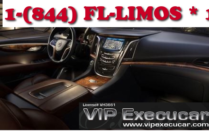 Trusted & Affordable South Florida Limousine Service