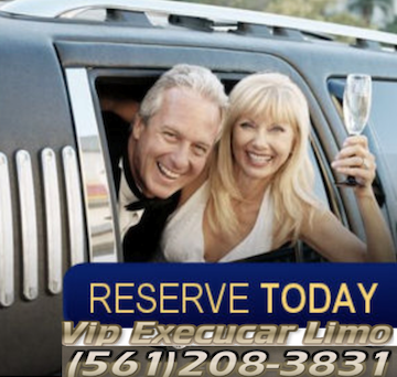Chauffeur driven limousine and wedding car hire services since 1999 in Aventura