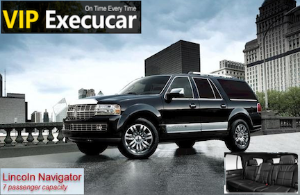 Miami International Airport (MIA) to Coral Gables, luxury lincoln navigator