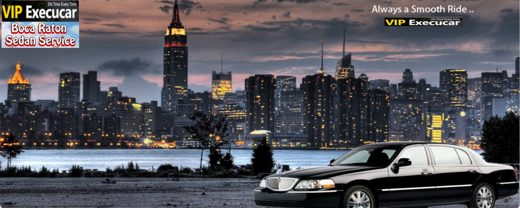 Vip Execucar chauffeured luxury limousine and private aviation services.