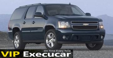 SUV chevrolet suburban limo : Boca Raton Luxury Limousine Rental : Boca Raton wedding limo