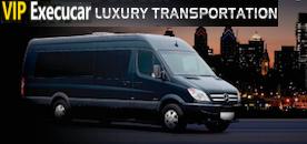 Charter Bus Service Palm Beach - Pompano Beach - VIP Execucar Charter Mercedes Benz Sprinter Limo, Boca Raton