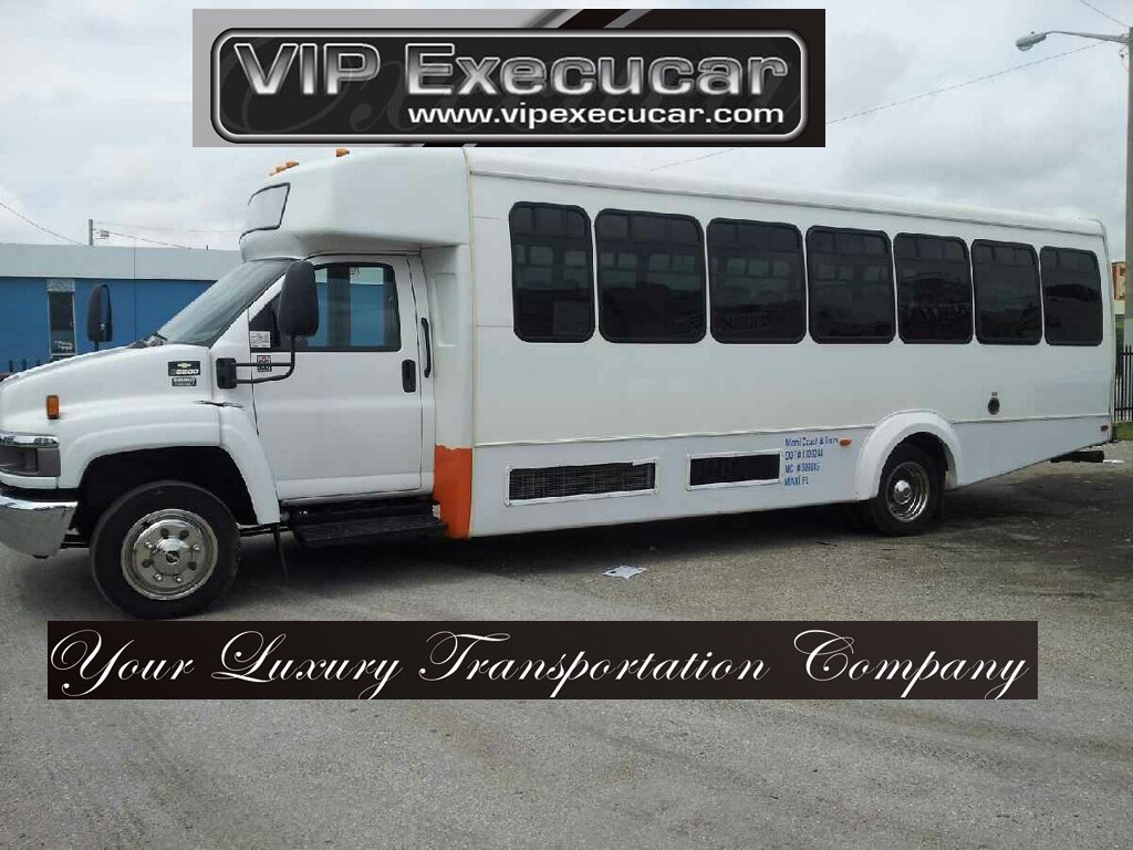 Miami 30 Passenger Mini bus Rental
