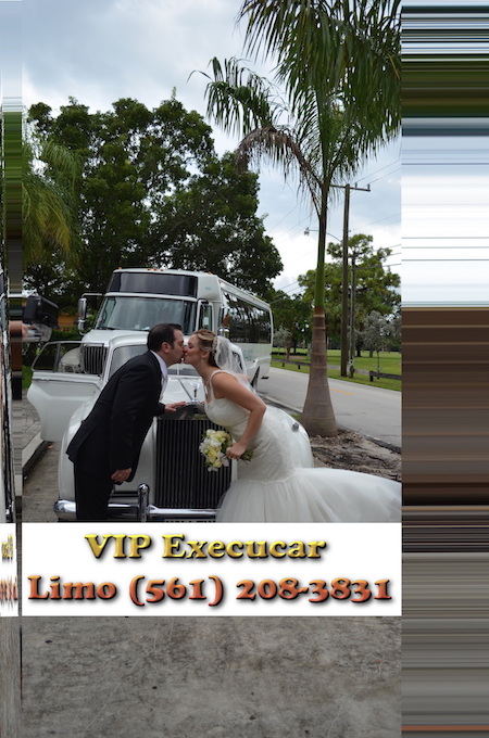 Wedding Limos and Transportation,Palm Beach Wedding limo