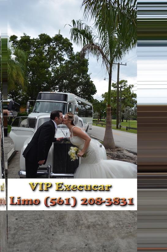 Parkland SUV wedding limo