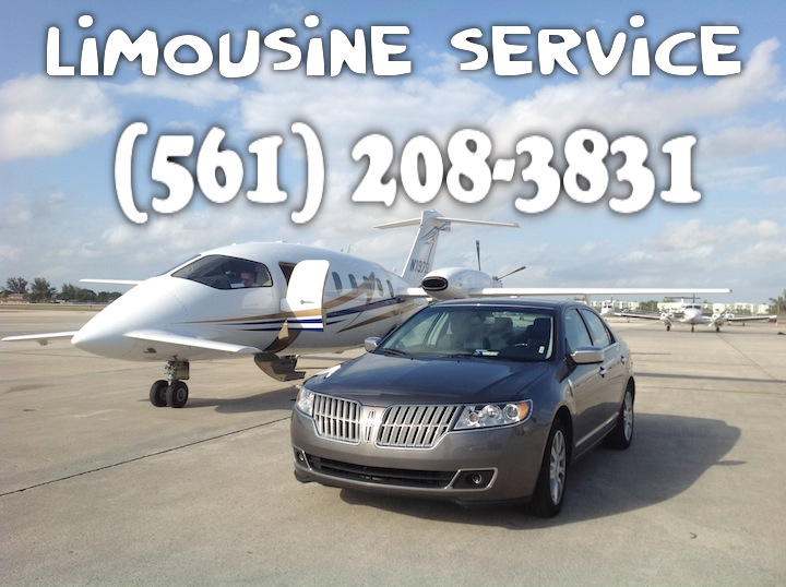 Airport Transportation in West Palm Beach FL: West Palm Beach limo service offers 24/7 days Palm Beach limo service and car service for  West Palm Beach.