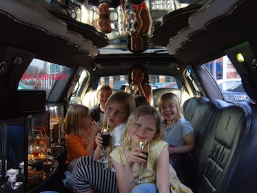 12-24 Passenger Mini Bus Charter as well Limousine Service: