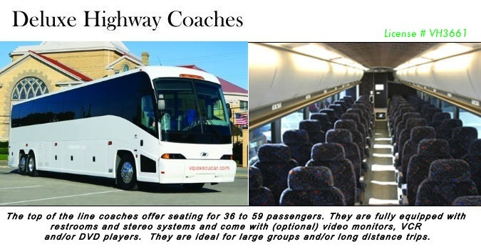 airport bus limo service