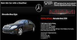 Miami - Miami Beach Luxury Transportation at the best rates. Executive travel welcome.